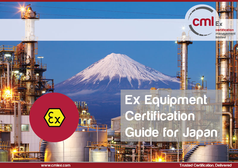 FREE Ex Equipment Certification Guide for Japan